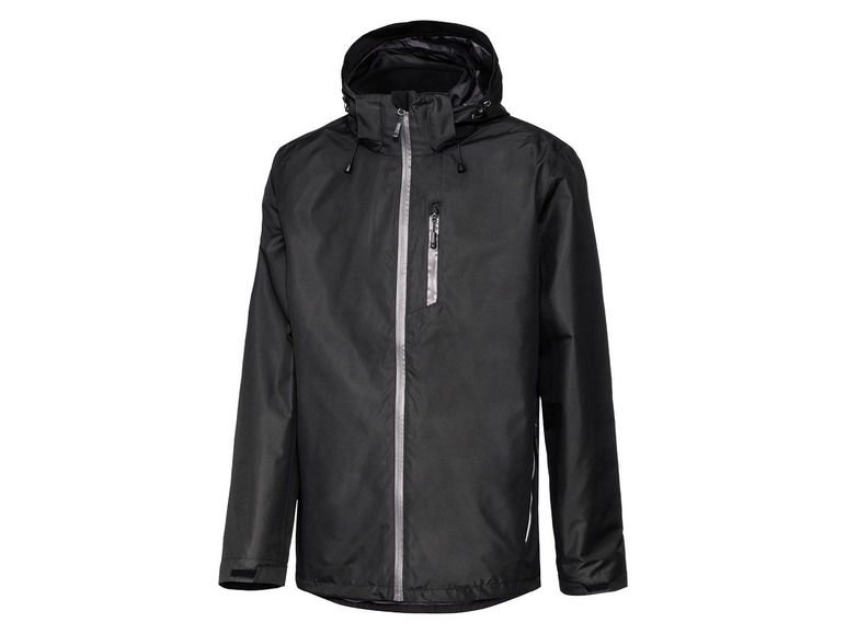 Heren 3-in-1 all-weather-jack M (48/50), Zwart