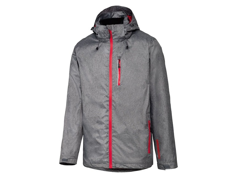 Heren 3-in-1 all-weather-jack L (52/54), Grijs