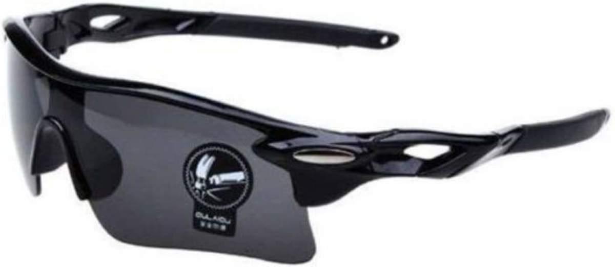Wielren - Schaats - Ski & Snowboard Bril - Volwassenen - Fietsbril - Zwarte Lens