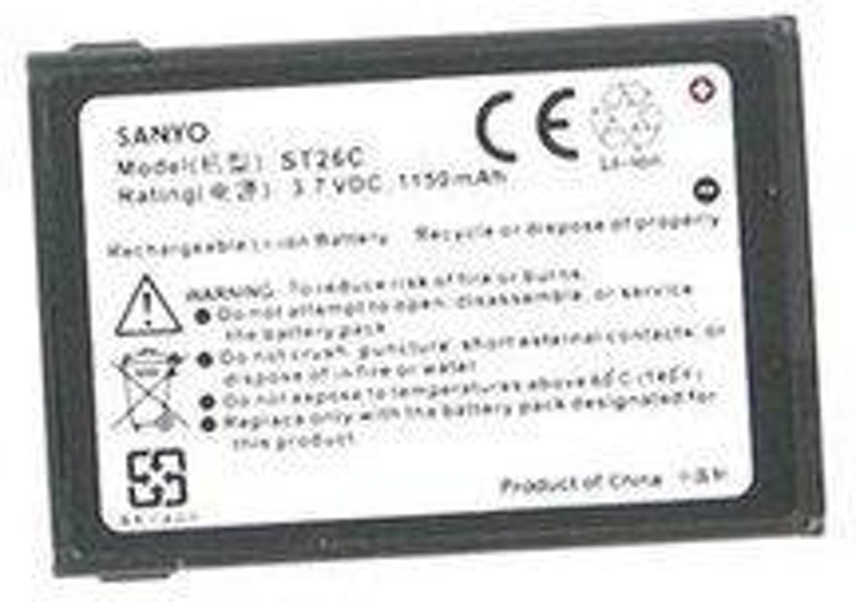 BA S160 (35H00080-00M) accu 960mAh voor HTC S620