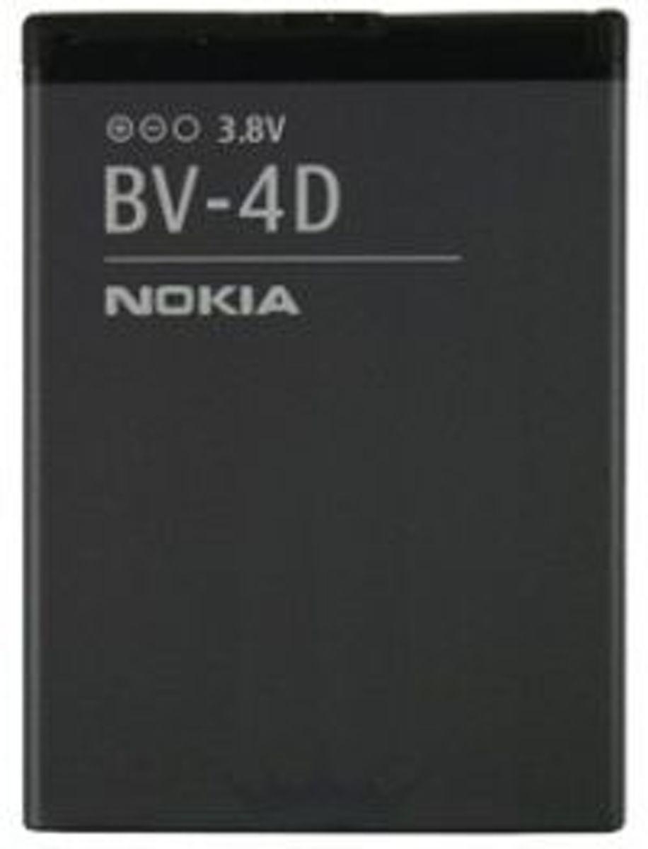 Nokia Accu BV-4D (voor o.a. Nokia 808 pureview)