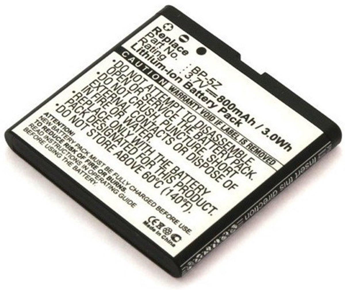 Accu voor Nokia BP-5Z Li-Ion