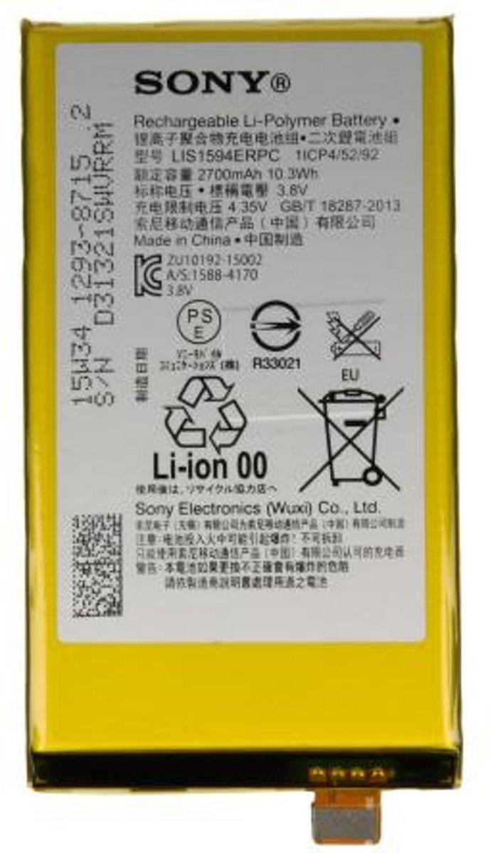 Sony Xperia Z5 Compact Batterij origineel LIS1594ERPC