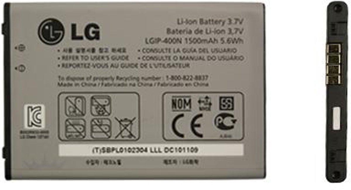 LG P500 Optimus One Batterij origineel LGIP-400N