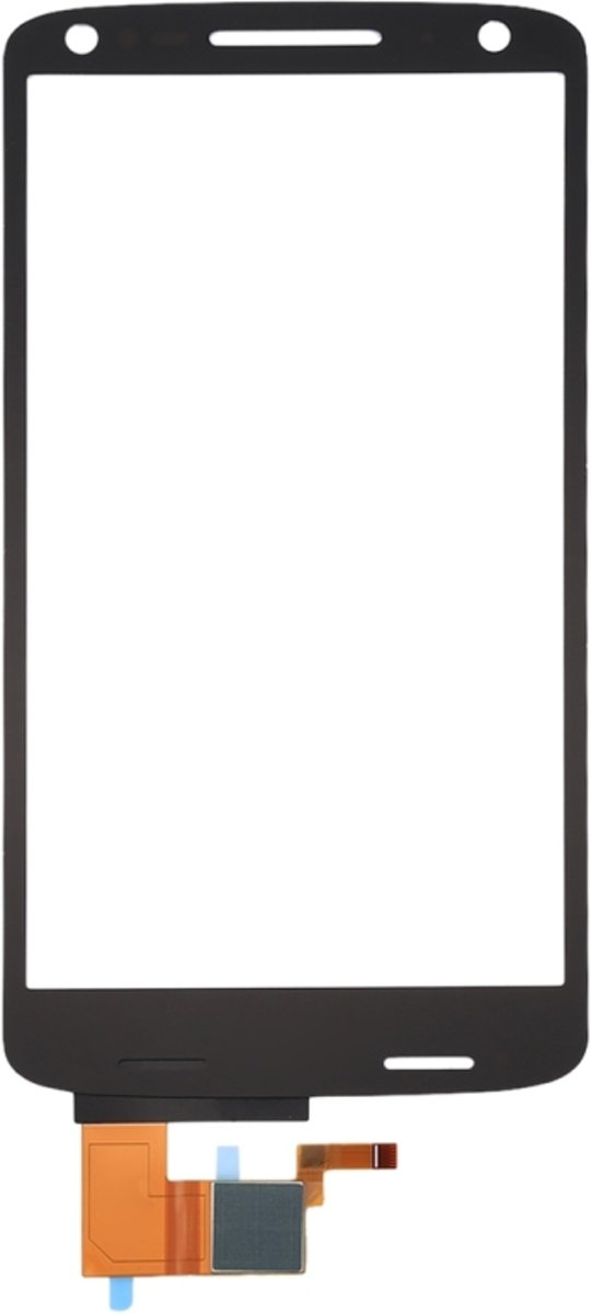 Touch Panel voor Motorola DROID Turbo 2 / XT1585(Black)