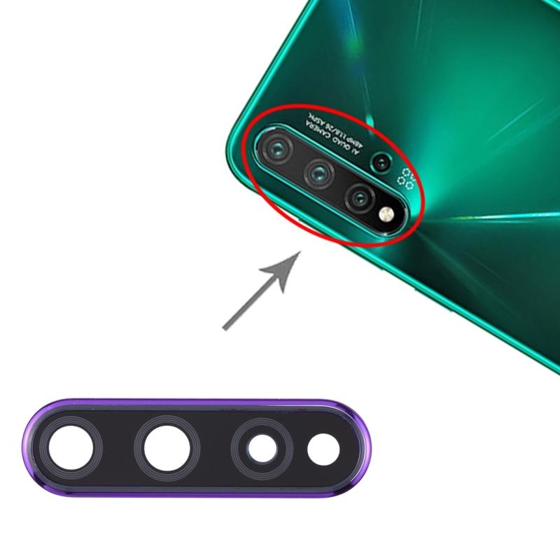 Camera lens cover voor Huawei Nova 5 Pro/Nova 5 (paars)