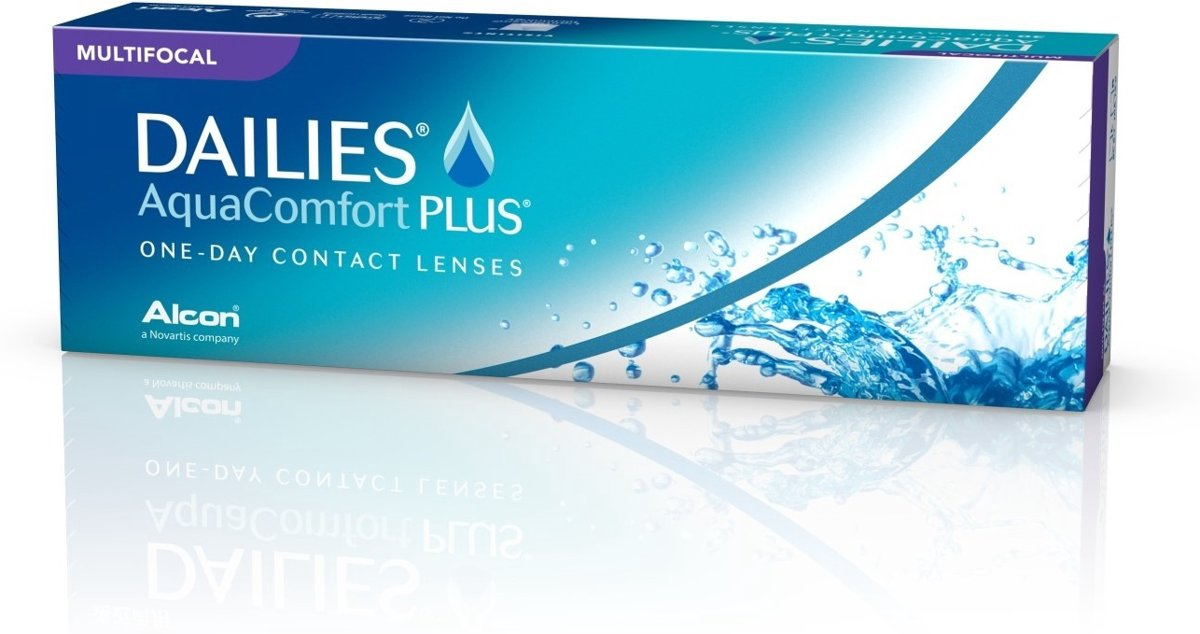 +4,50 Dailies All Day Comfort Multifocal  LOW  -  30 pack  -  Daglenzen   -  Contactlenzen