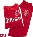 Ajax pyjama kinderen - rood/wit - maat 152