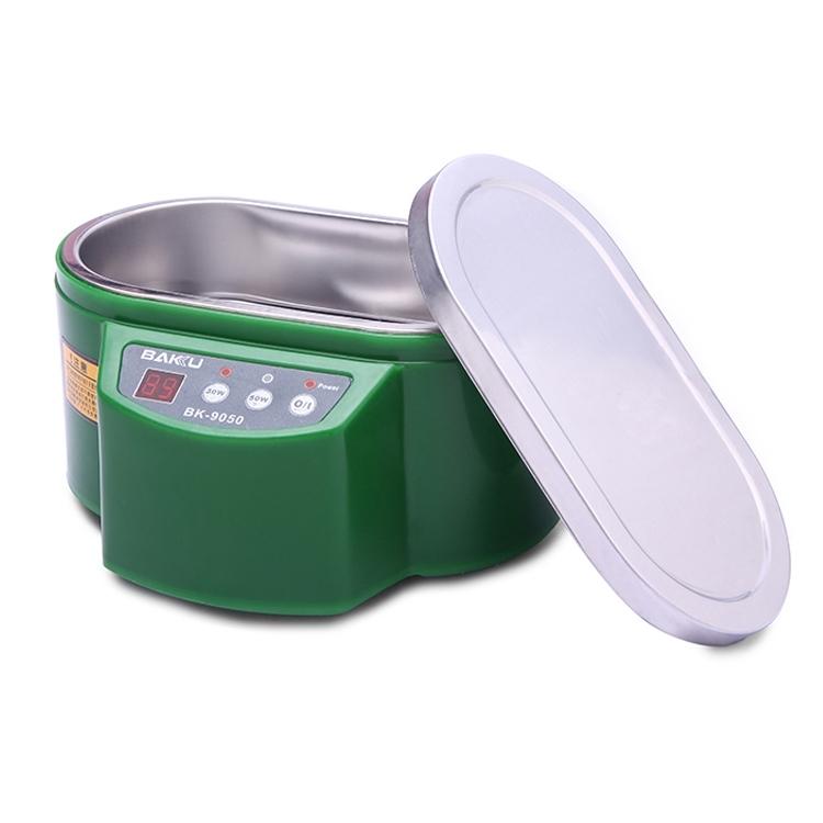 BAKOE BK-9050 30W / 50W verstelbare 0 6 L LCD Display ultrasone reiniger AC 220V(Green)