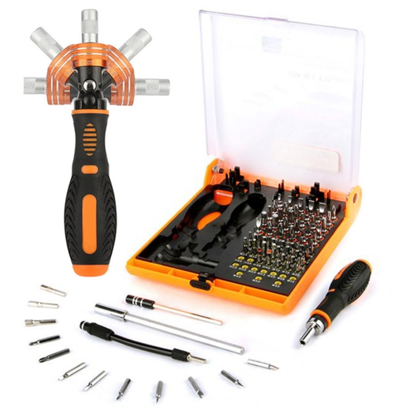 JAKEMY JM-6113 73 in 1 huishoudelijke hardware schroevendraaier reparatie tool set