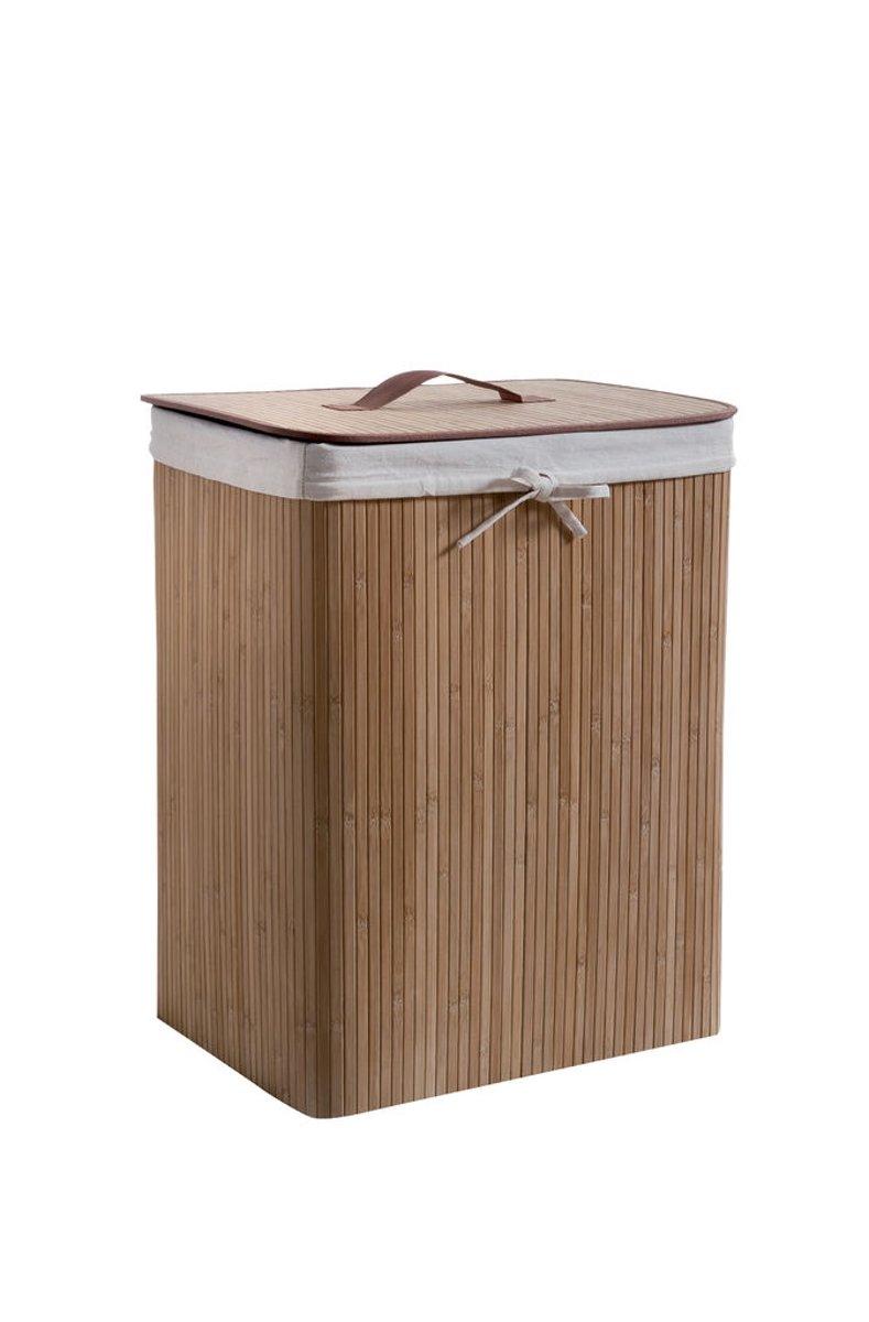 Rechthoekige Vouwbare Wasmand 'Bamboo'