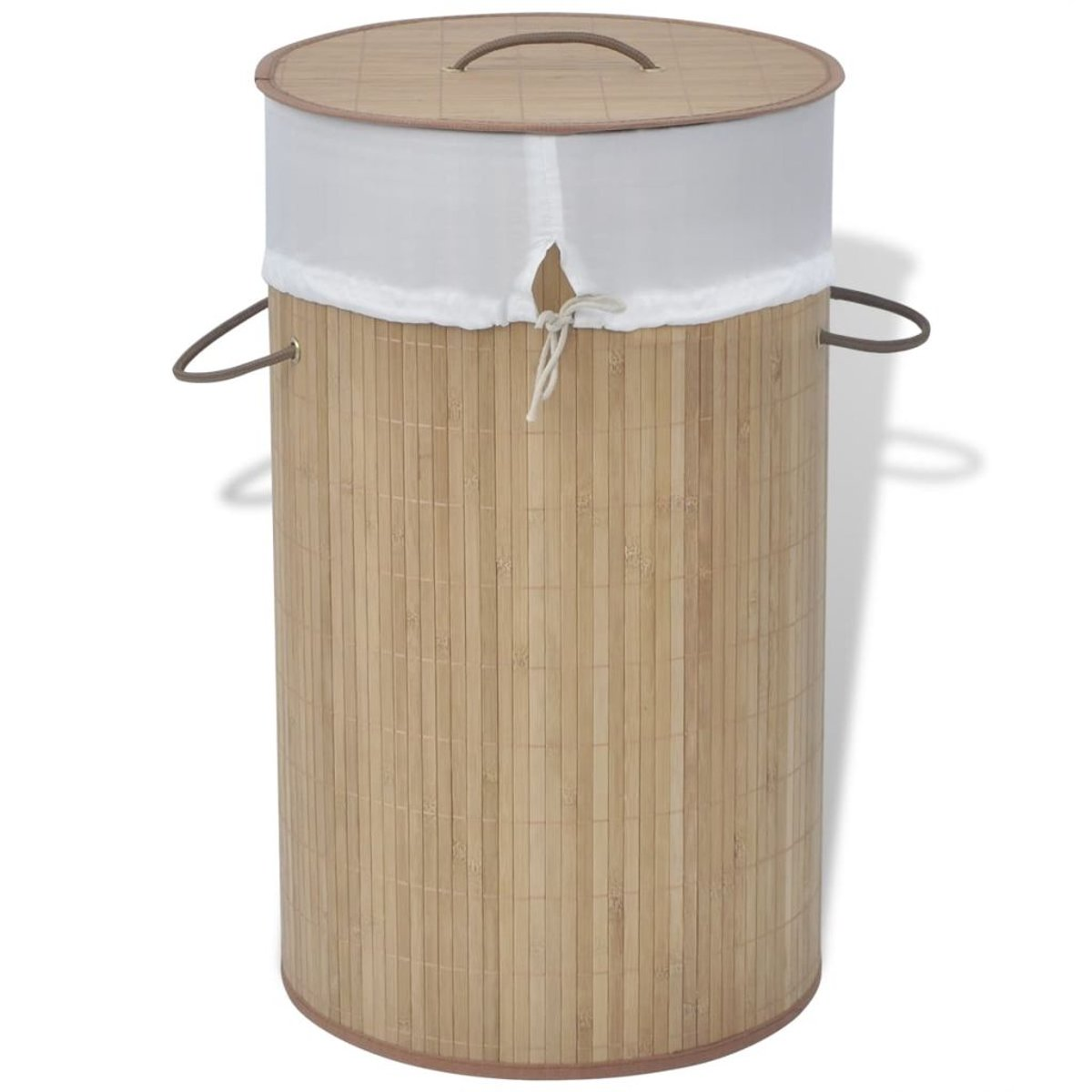 Wasmand rond bamboe natuurlijk