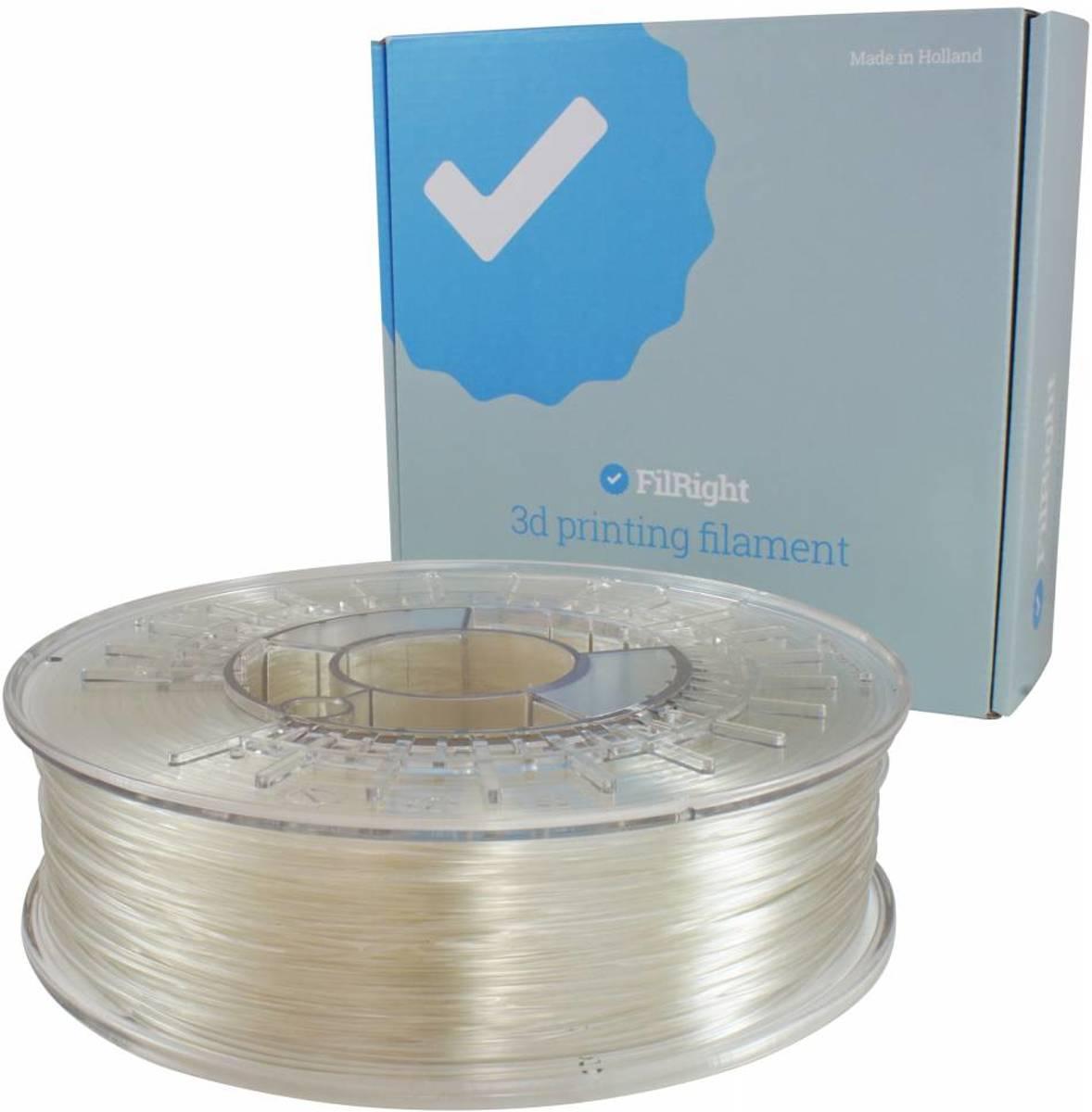 FilRight Engineering TPU Flexibel Filament - 2.85mm - 500 g - Transparant
