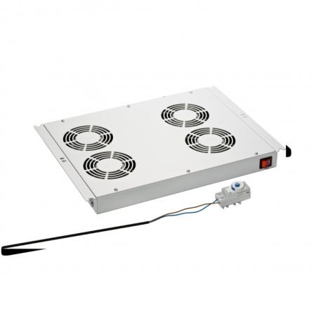 Serverkast ventilator - 4 fans - Techtube Pro