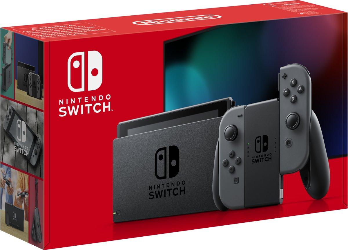 Nintendo Switch - Grijs - Verbeterde accuduur - Nieuw model
