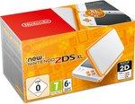 New Nintendo 2DS XL console - Wit/Oranje