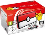 New Nintendo 2DS XL console - Pok?ball Edition