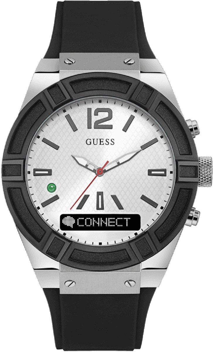Guess Connect C0001G4 - Smartwatch - Zwart