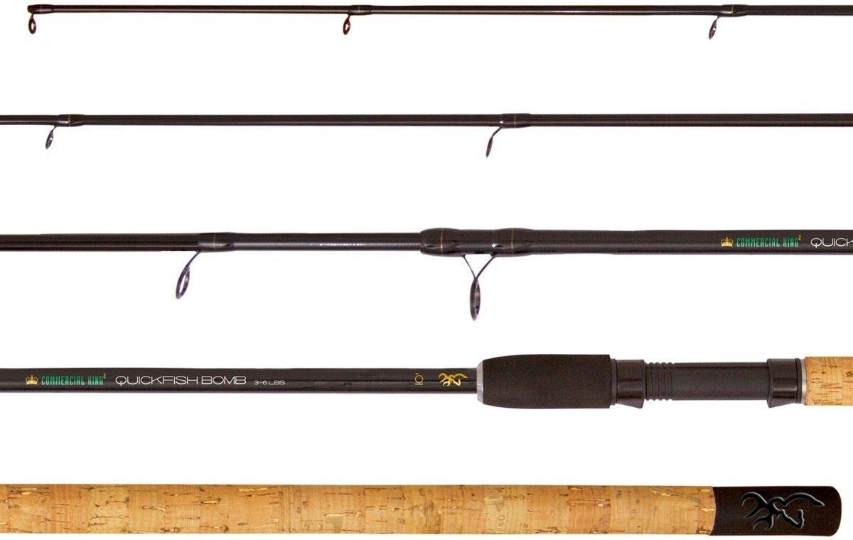 Browning commercial king II quickfish feeder 3.30M 20-60   feederhengel