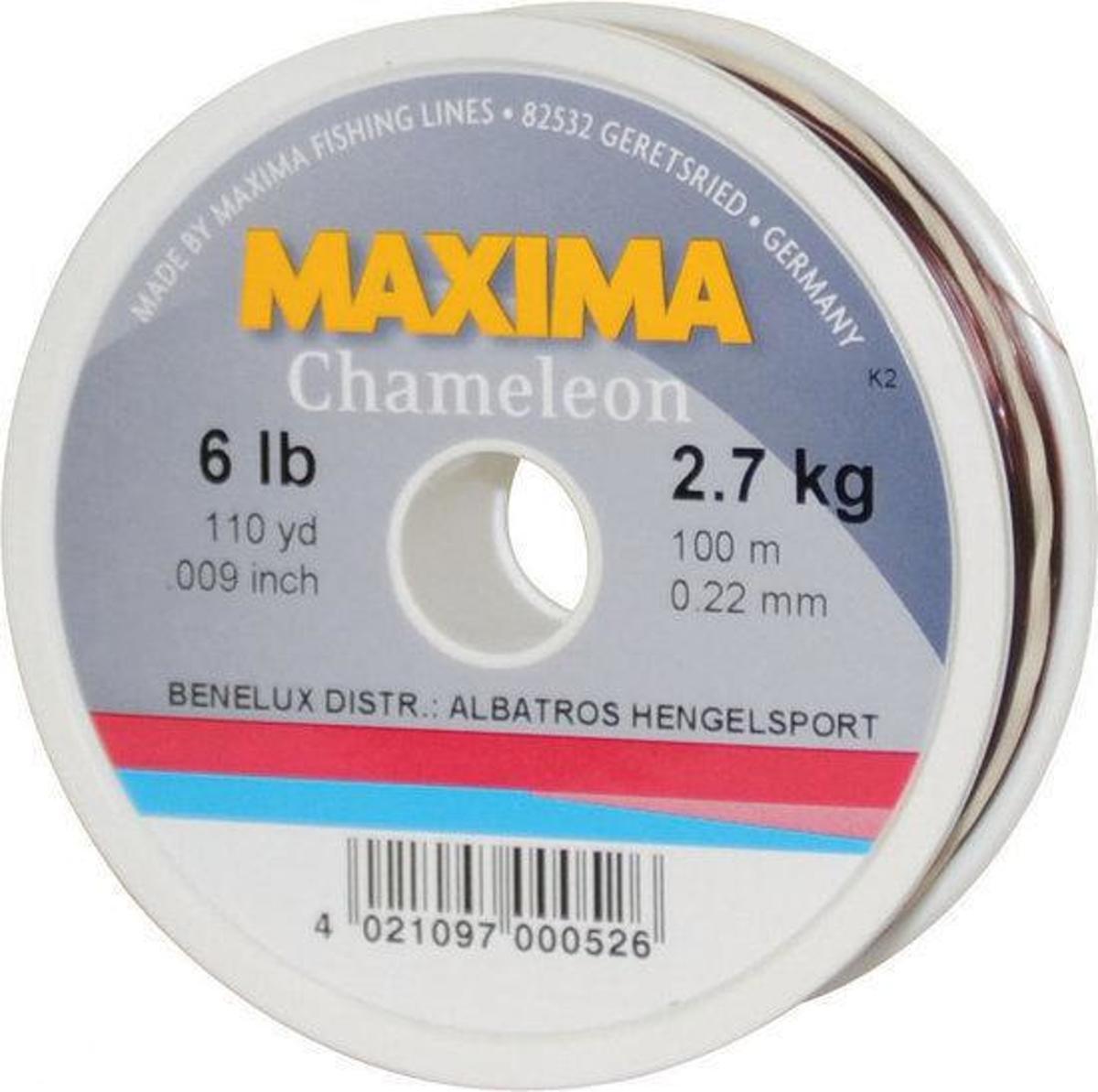 Maxima Chameleon Vislijn - 0.32 mm - 5.5 kg - 100 m
