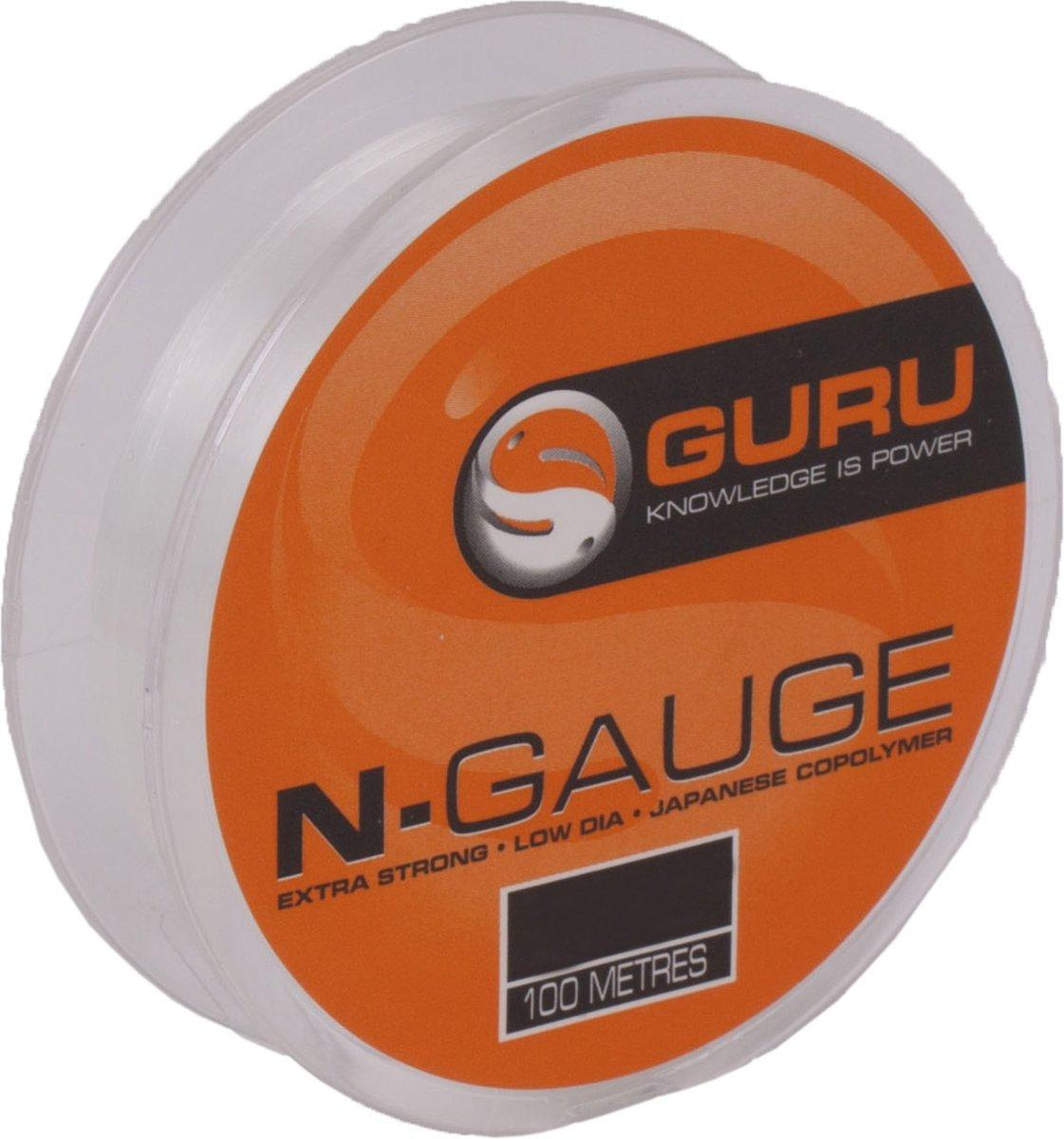 Guru N-Gauge | Nylon Vislijn | 0.15mm | 100m