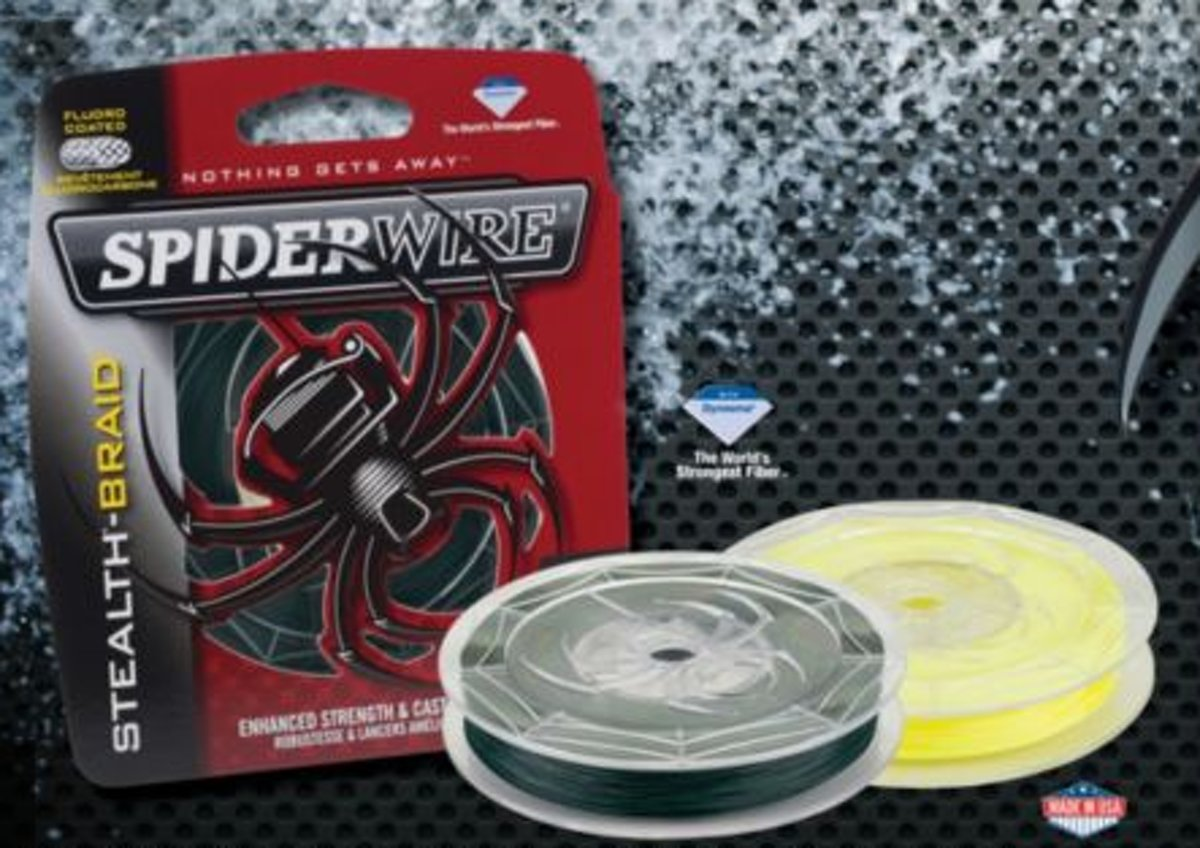 Spiderwire stealth moss green 137M - 0.12mm| gevlochten lijn