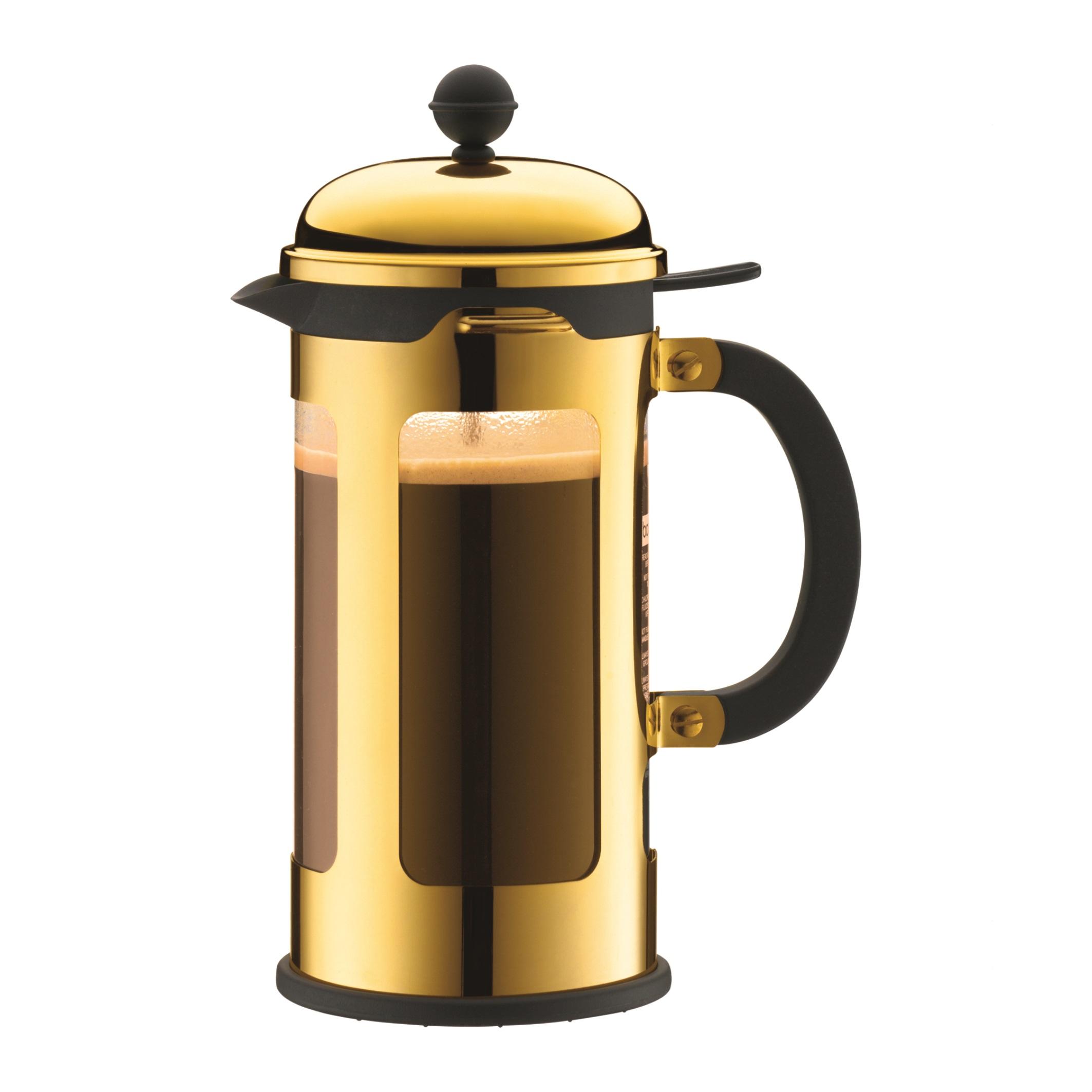 Bodum Cafeti?re Chambord Goud 1 Liter