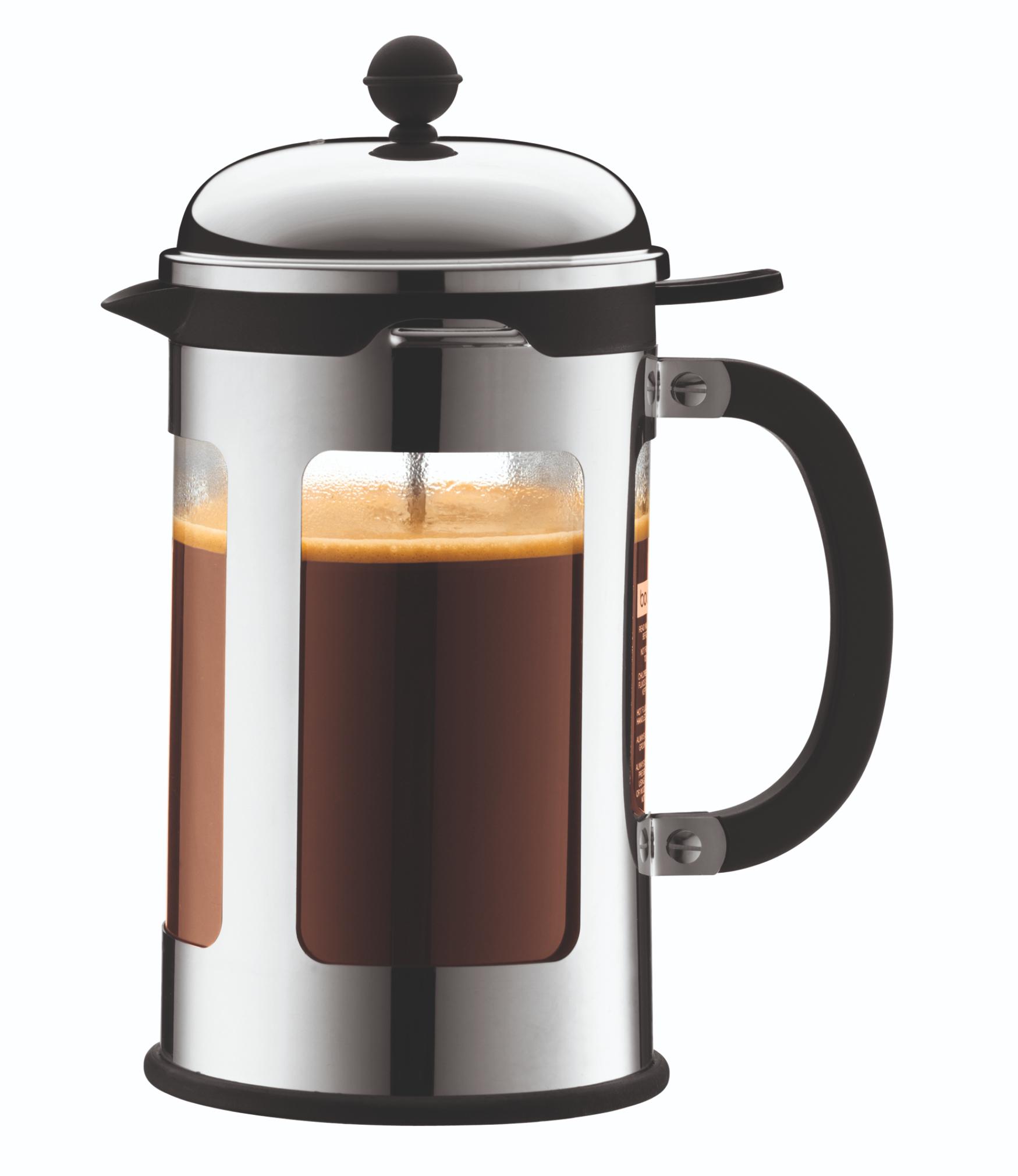 Bodum Cafeti?re Chambord RVS 1.5 Liter