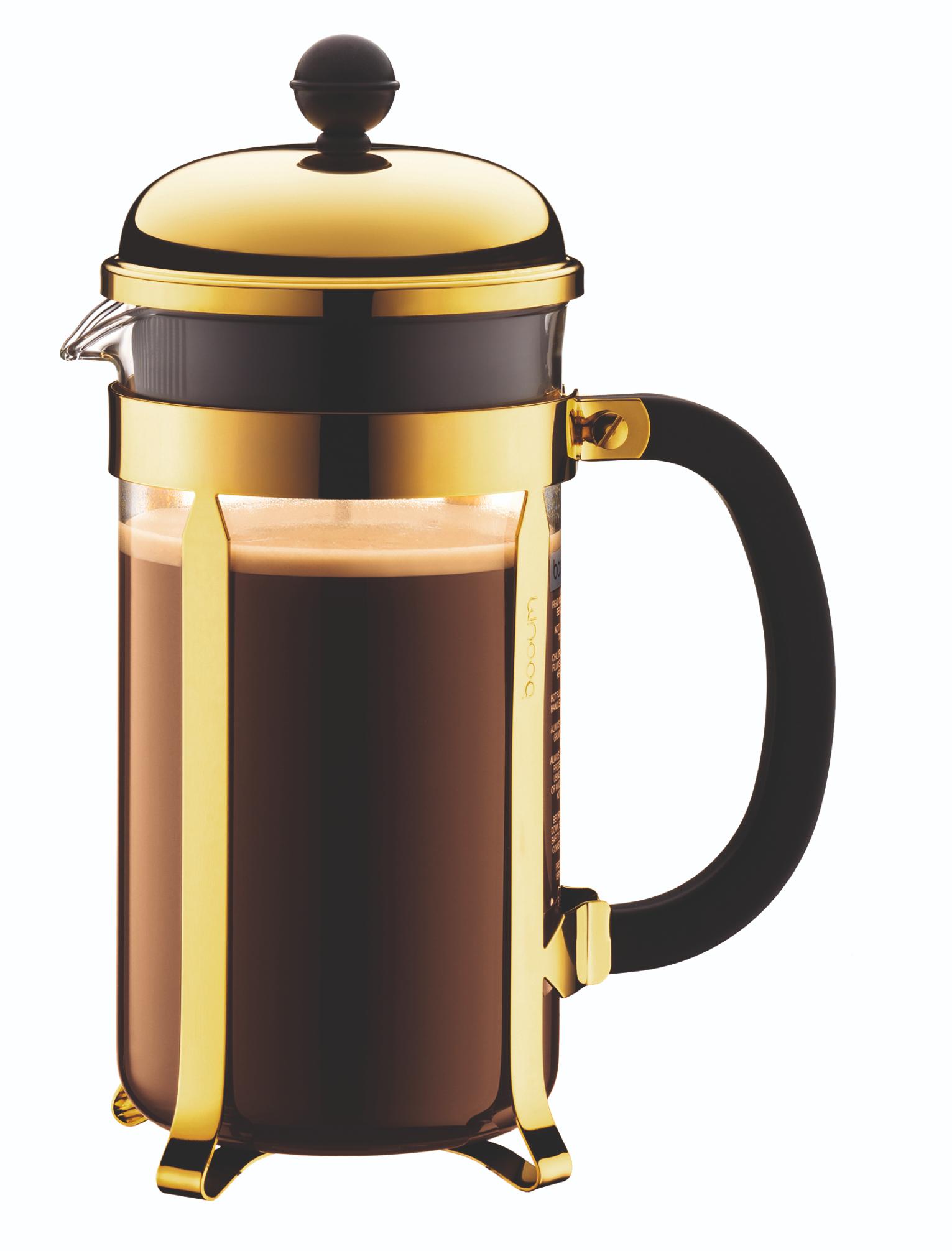 Bodum Cafeti?re Chambord Goud 1.5 Liter
