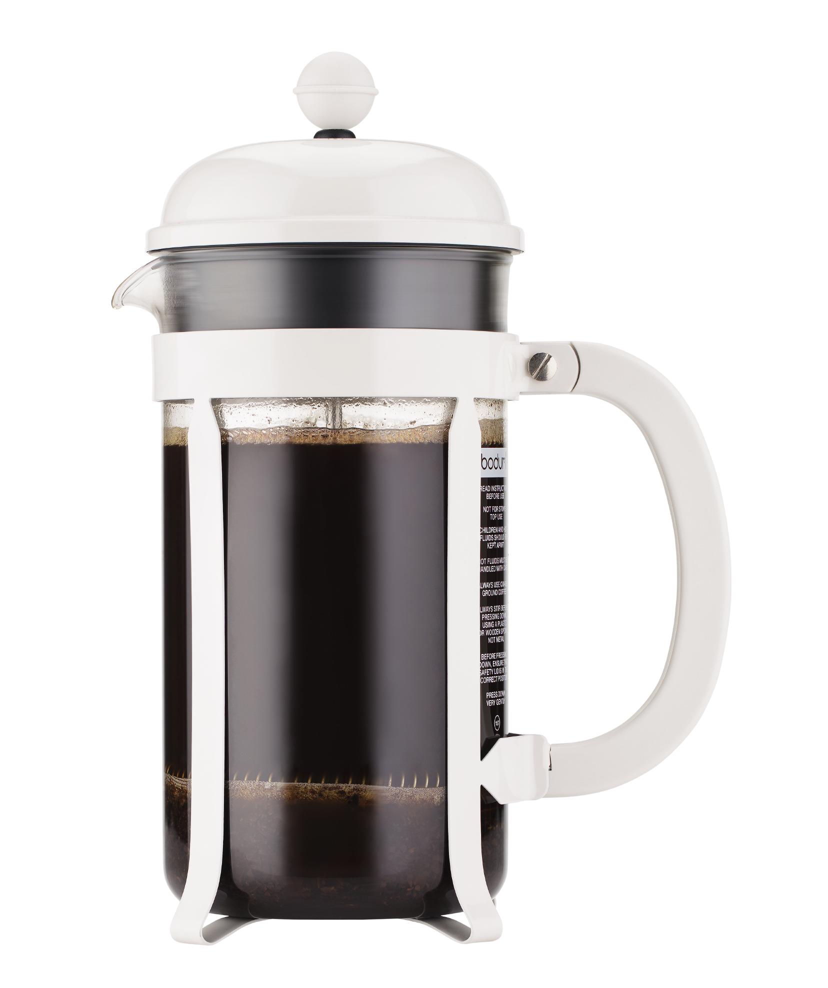 Bodum Cafeti?re Chambord Wit 1 Liter