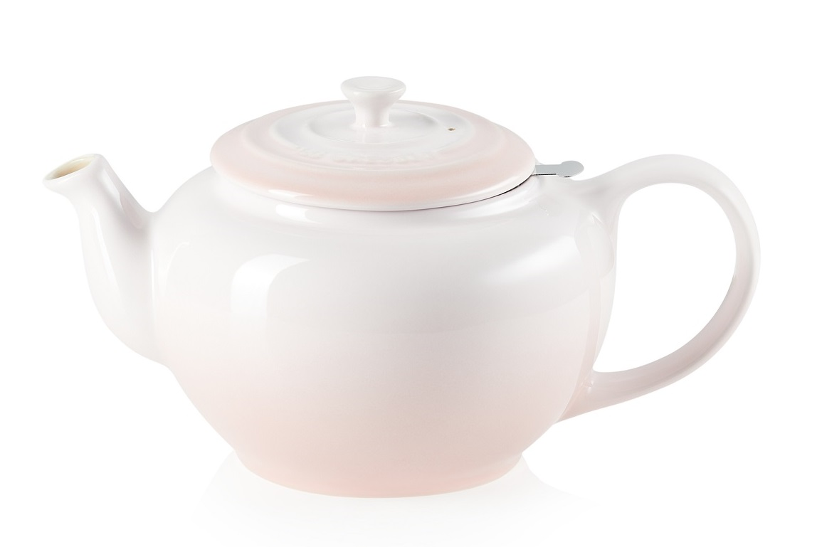 Le Creuset Theepot Shell Pink 1.3 Liter