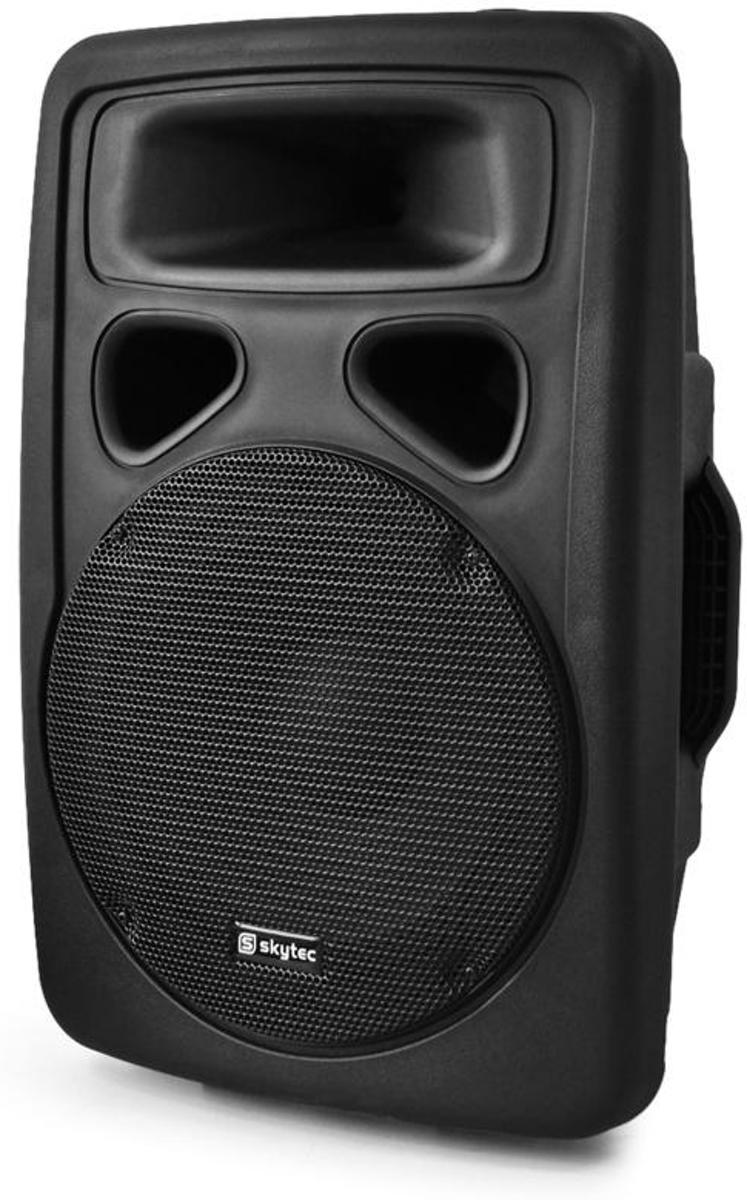 SkyTec SP800A Actieve PA Speaker - Zwart