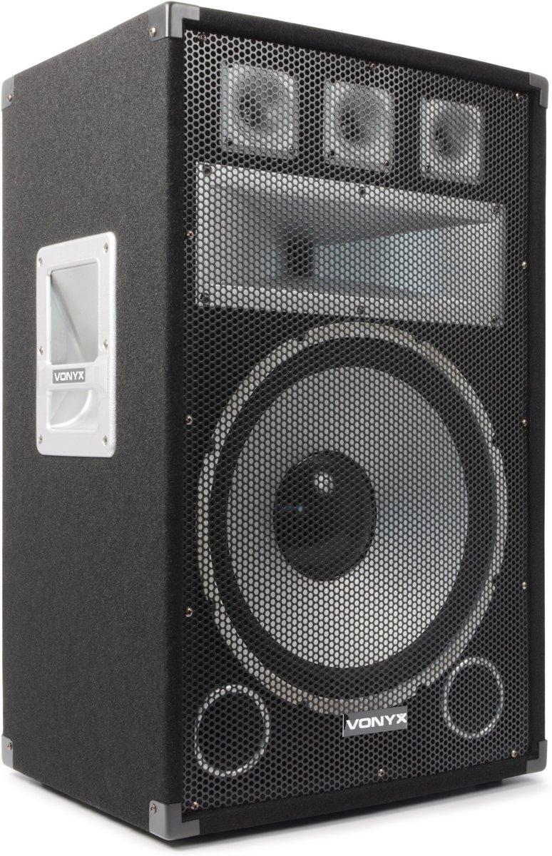 Vonyx TX15 - PA Luidspreker - Zwart