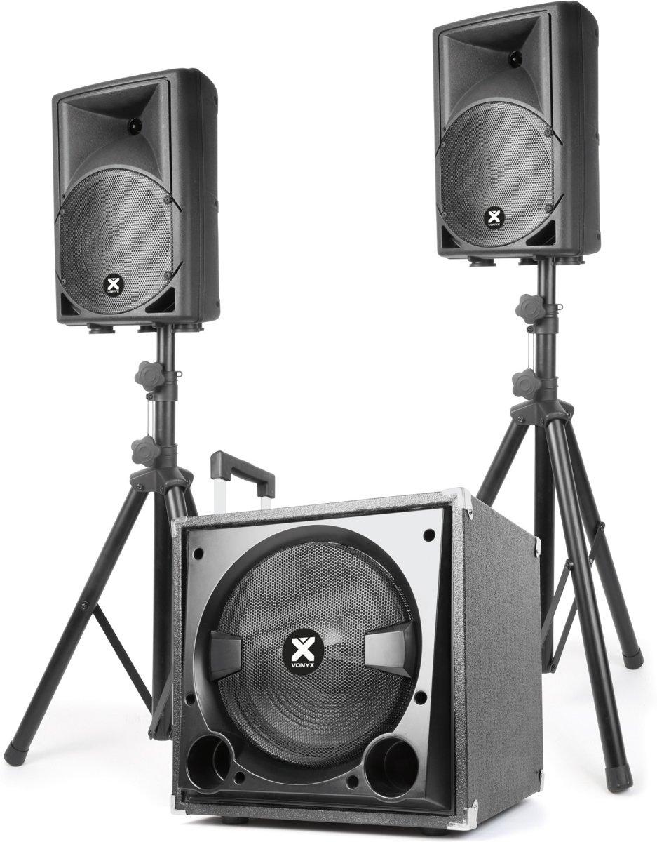 Vonyx VX800BT complete 2.1 Actieve speakerkit