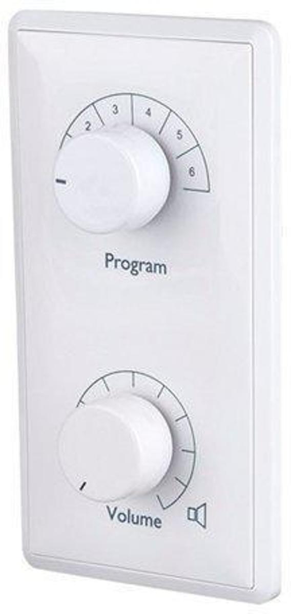 DAP Audio VPC-36 inbouw volumecontroller met een input selector, max. 36 Watt