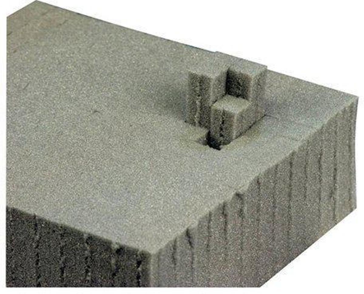 DAP Audio Plukschuim: 120 x 60 x 5 centimeter