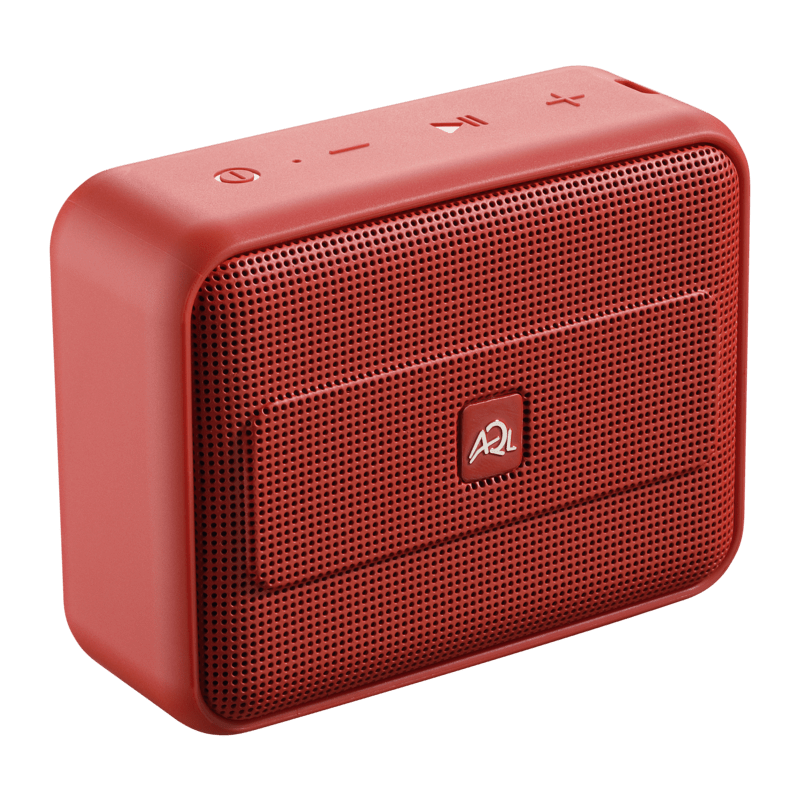 AQL: Fizzy2 Bluetooth luidspreker - Rood