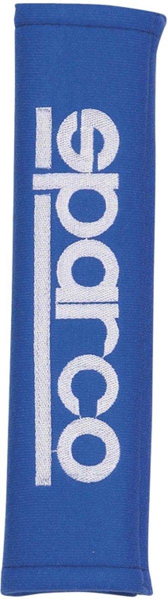 Sparco Gordelhoezen 28 X 6,5 Cm Alcantara Blauw 2 Stuks