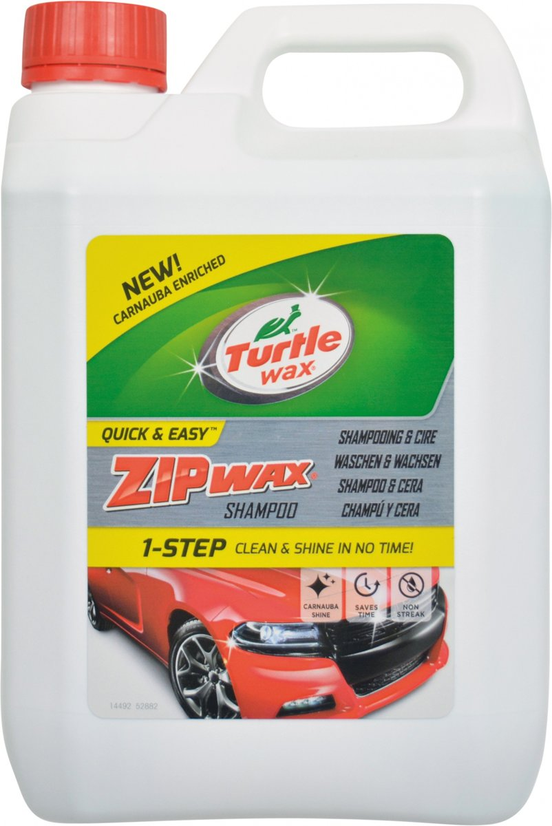 Turtle Wax 52882 Zip Wax shampoo 2,5 L