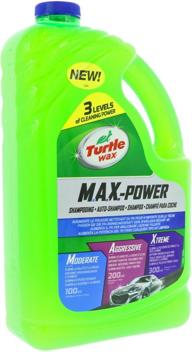 Turtle Wax 53058 M.A.X.- Power Car Wash 3L