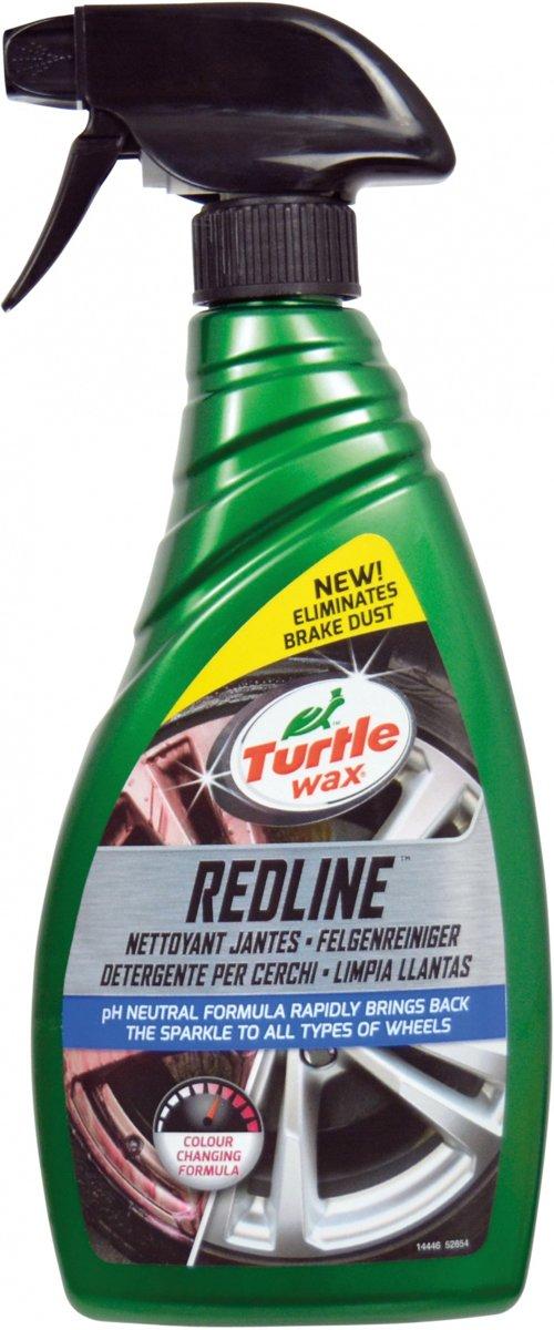 Turtle Wax 52854 All Wheel Cleaner Redline velgenspray 500ml