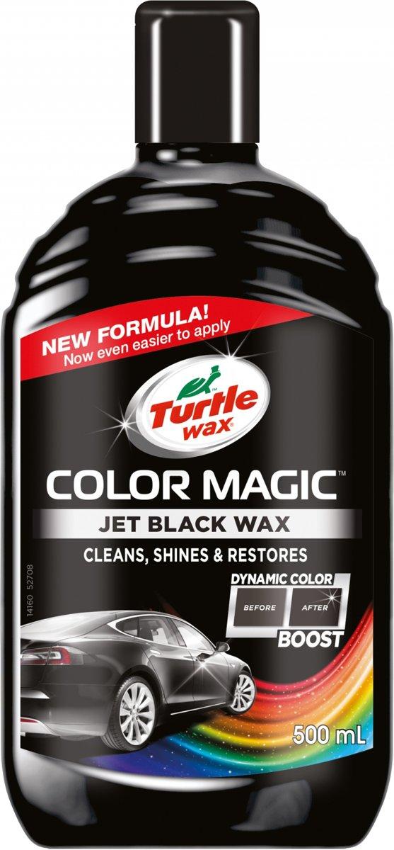 Turtle Wax 52708 Color Magic Black kleurwas 500ml