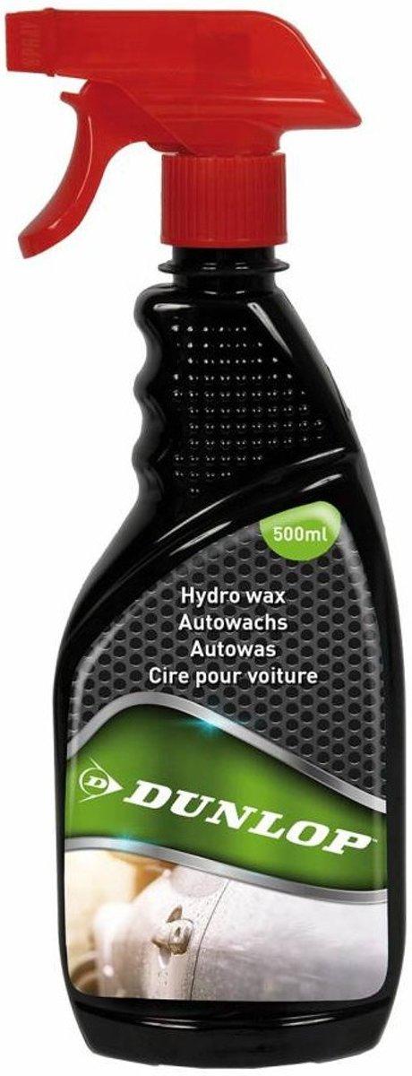 Dunlop Autowax 500 Ml Zwart