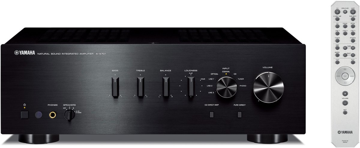 Yamaha A-S701 Amplifier Black