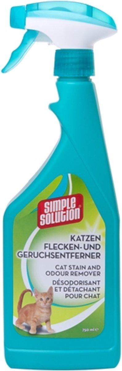 Simple Solution Stain & Odour Vlekverwijderaar Kat - 750 ML