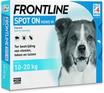 Frontline Spot-On M Anti vlooienmiddel - Hond - 4 pipetten