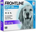 Frontline Spot-On L Anti vlooienmiddel - Hond - 4 pipetten