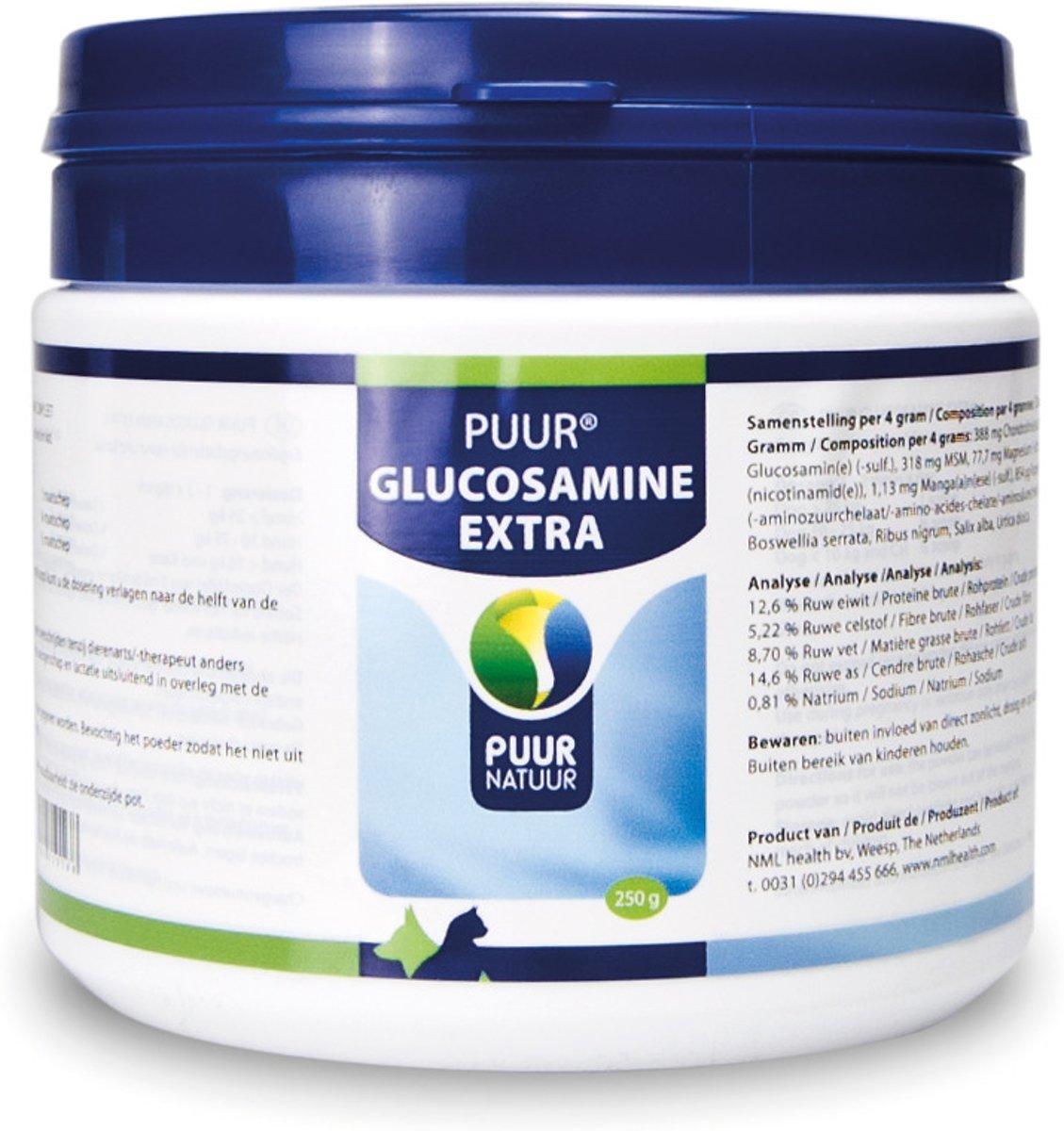 Puur Natuur Glucosamine Compleet - 250 gr