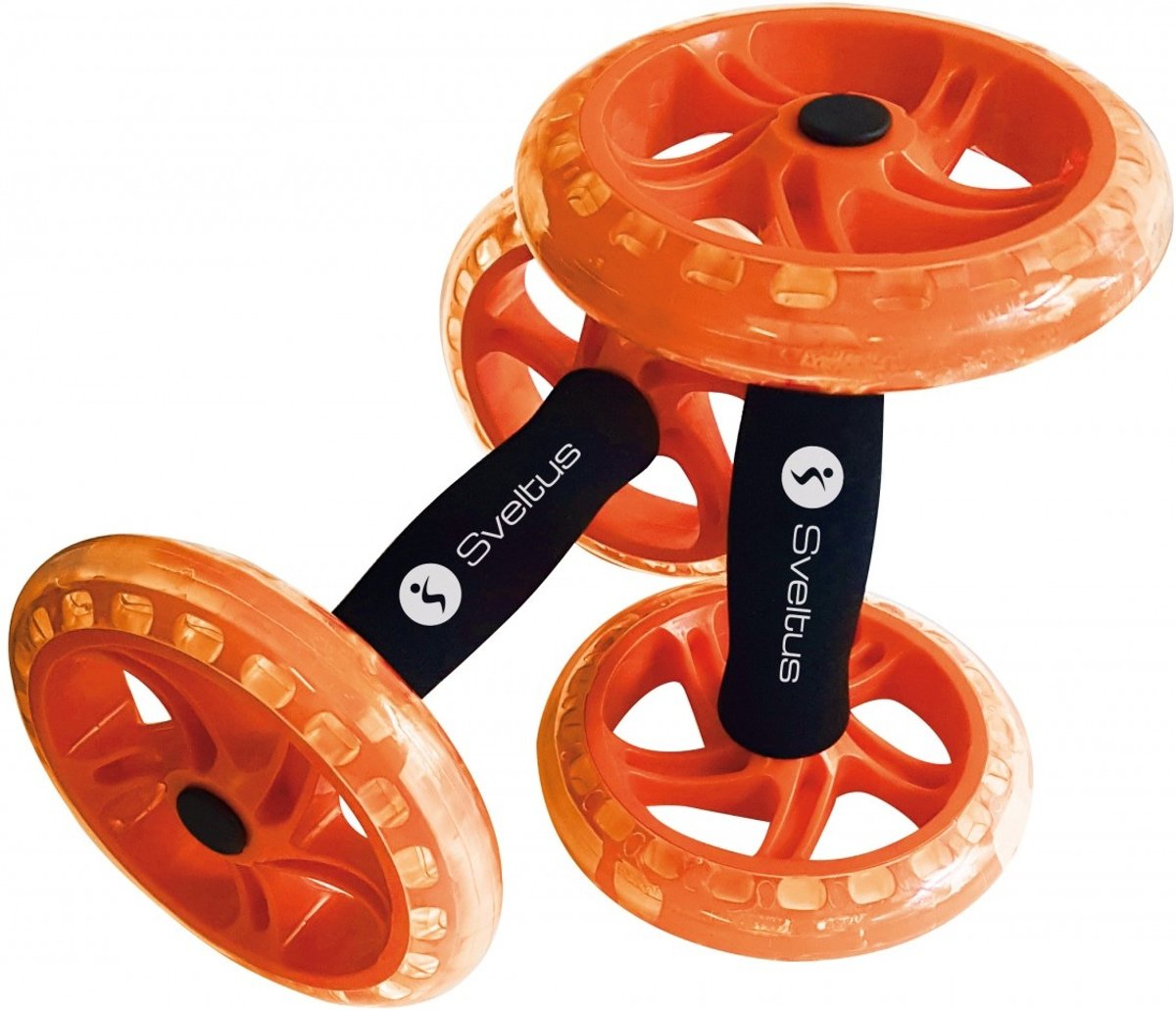 Sveltus Trainingswielen Oranje 2 Stuks 14 Cm