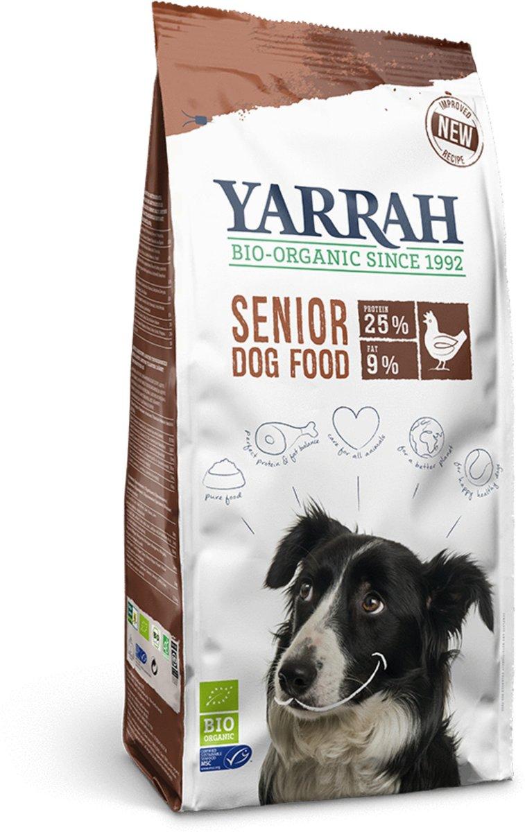 Yarrah Dog Senior Biologisch - Kip - Hondenvoer - 2 kg